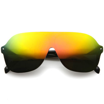 BEAST MODE MIRROR SUNGLASSES