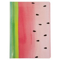 Nice Slice A5 watermelon casebound notebook