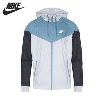 ONETOW Original New Arrival 2017 NIKE Sportswear Windrunner  Men's  Jacket Hooded Sportswear