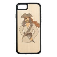 Pirate Carved iPhone 8/7 Case