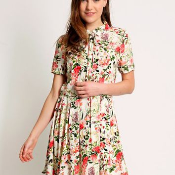 Dancing Moon Floral Dress