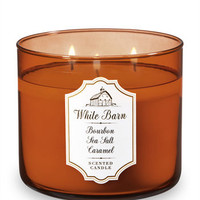White BarnBOURBON SEA SALT CARAMEL3-Wick Candle