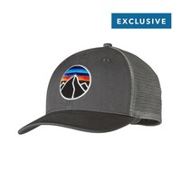 Patagonia Fitz Roy Emblem Trucker Hat | Forge Grey