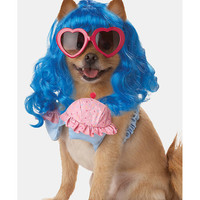Cupcake Girl Dog Costume