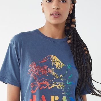 Cooke Collective Rainbow Japan Tee | Urban Outfitters