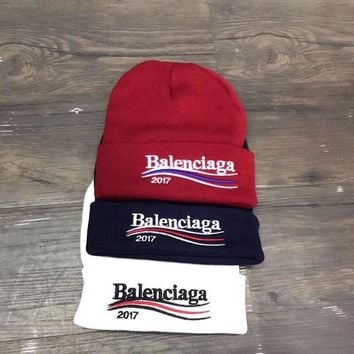 DCCKW2M Balenciaga Fashion Winter Knit Women Beanies Hat Cap