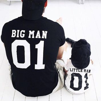 Big Man - Little Man - Dad/Son T-shirt
