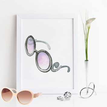PRADA GLASSES,Prada Marfa,Fashion Print,Famous,Prada Fashion Wall Art,Fashion Illustration,Bathroom Print,Modern Wall Art,Prada Print