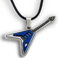 Ichthus Guitar Necklace