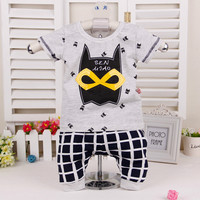 Baby/Toddler Batman Cotton Shirt + Pant Sport Clothes 2pcs