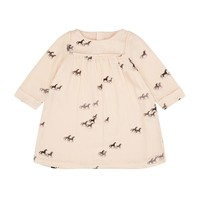 Chloe Pony Print Dress Pink | Harrods.com