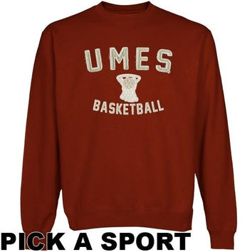 Maryland Eastern Shore Hawks Legacy Sweatshirt - Cardinal