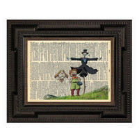 Howls Moving Castle Markel and Turnip Head Print on by AvantPrint