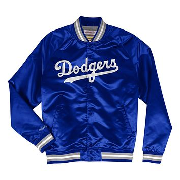 Mitchell & Ness Los Angeles Dodgers Lightweight Satin Jacket