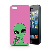 Alien Smoking Plastic Phone Case for iphone 5 5s _ SUPERTRAMPshop