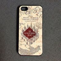 Harry Potter Marauders Map Iphone 5c case