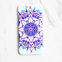 Bold Mandala Flower iPhone Case