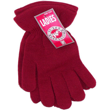 Paris Ladies Premium Winter Classic Flare Cuff Gloves, One Size