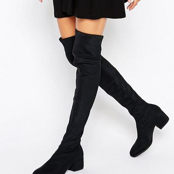 Vagabond Daisy Over The Knee Boots at asos.com