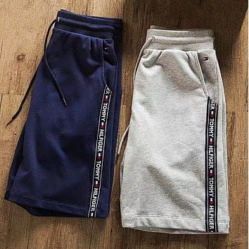 """ Tommy Hilfiger "" Men Casual Sport Shorts"