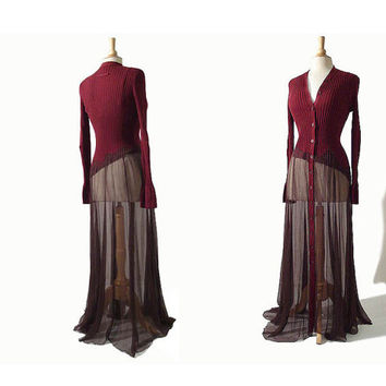Vintage Jean Paul Gaultier Deconstructed Dress - Asymmetric Avant Garde JPG Dress