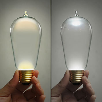 E27 LED Edison Squirrel Cage Light Bulb 110V-220V 3W - Edison bulb -  led lamp - modern lamp - modern lighting - home decor