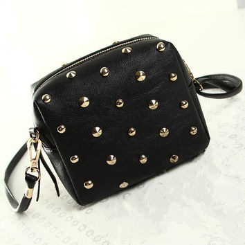 Rivets Mini Crossbody Bag