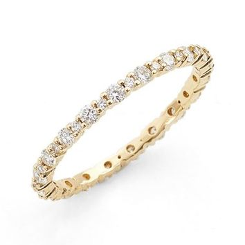Bony Levy 'Gianna' Diamond Eternity Ring (Nordstrom Exclusive) | Nordstrom