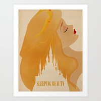 Sleeping Beauty Art Print by Magicblood