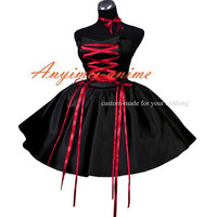 Free Shipping sissy maid Gothic lolita punk ball gown dress cosplay costume Tailor-made [G420] - $93.41 : Fond Cosplay