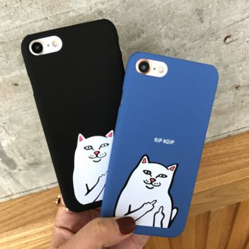 Ripndip Cat Meow Iphone  7 7Plus & 6 6s Pus &5 5s Cover Case