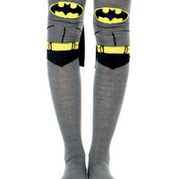 BATMAN SUIT UP CAPE KNEE HIGH SOCKS