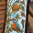 Lumbar Pillow In Sri Lankan Hand Drawn Batik Birds
