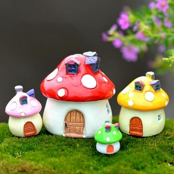 Popular Garden Ornament Miniature DIY Craft Dollhouse Decor Pot Fairy Micro-landscape Moss Heaviness