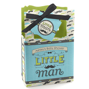 Baby Shower Favor Boxes - Dashing Little Man