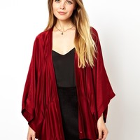 ASOS Evening Jacket with Drape Detail
