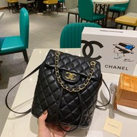 Gucci Fashion women New Monogram Print Leather Handbag Shoulder Bag Women Black