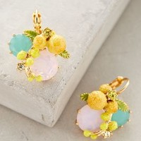 Miranda Drops by Les Nereides Yellow One Size Earrings