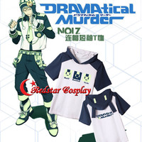 Dramatical Murder DMMd Noiz knitted Schoolbag T-shirt Cosplay Top Hoodies Laptop