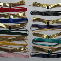 Sailor Moon Sailor Scout Tiara and Choker Set Costume Cosplay Accessories Venus Mars Jupiter Mercury Pluto Saturn Neptune Uranus