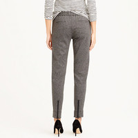 ANKLE-ZIP PANT IN GREY