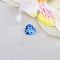 Blue Sapphire Heart Shape, 1.86ct Loose Gemstone