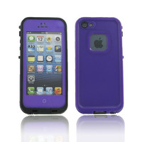iPhone 5S/ 5 Purple Water Proof Case