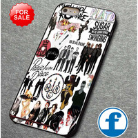 Fall Out Boy My Chemical Romance Panic! At the Disco  for iphone, ipod, samsung galaxy, HTC and Nexus PHONE CASE