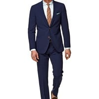 Suit Blue Plain Havana P3788 | Suitsupply Online Store