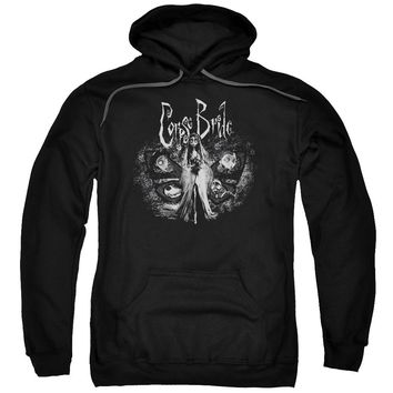 Corpse Bride - Bride To Be Adult Pull Over Hoodie