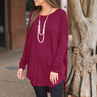 Loose Round Neck T-Shirt B0013433