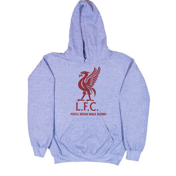Liverpool Fc logo  funny hoodie for unisex by senandung