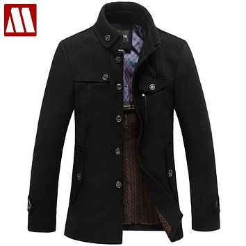 Winter ,men, wool coat