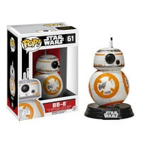 BB-8 Pop Star Wars Force Awakens Bobble-Head Vinyl Figure